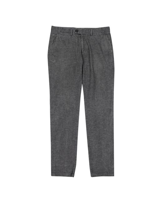 Moncler - Gray Pre-owned Grey Cotton Trousers for Men - Lyst