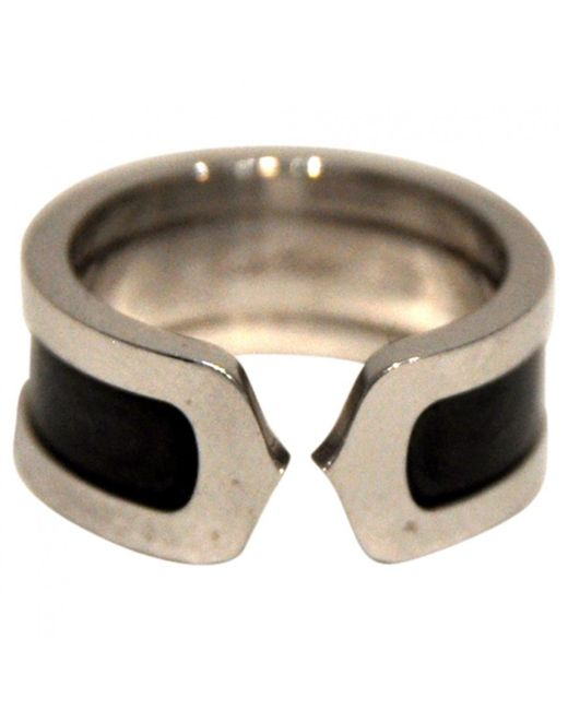 Cartier | Multicolor White Gold Ring | Lyst