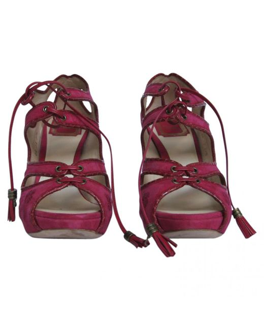 Dior - Multicolor Other Leather Sandals - Lyst