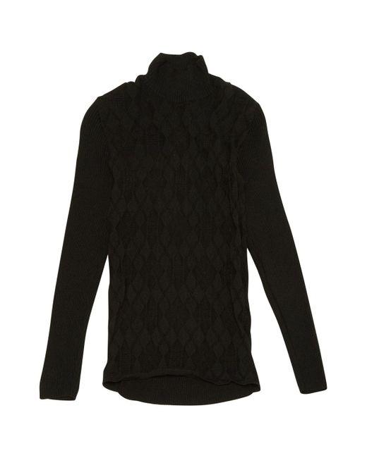Givenchy Black Wool Knitwear