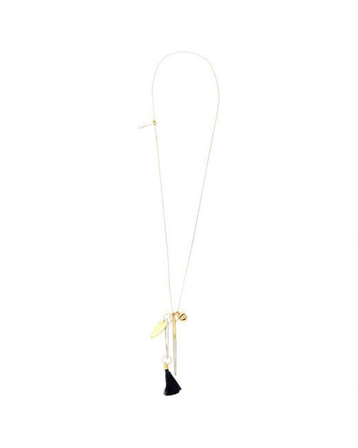 Chloé - Metallic Gold Other Necklace - Lyst