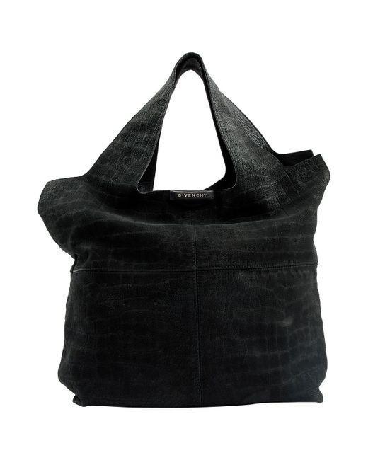 Givenchy - Black Leather Shoulder Bag - Lyst