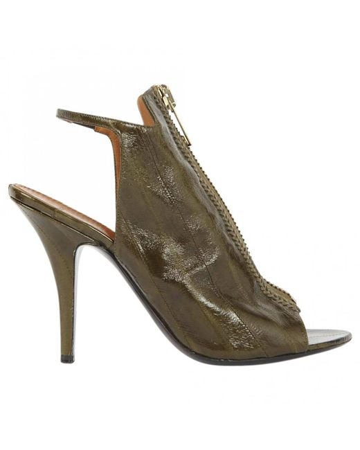 Givenchy - Green Pre-owned Sandals - Lyst