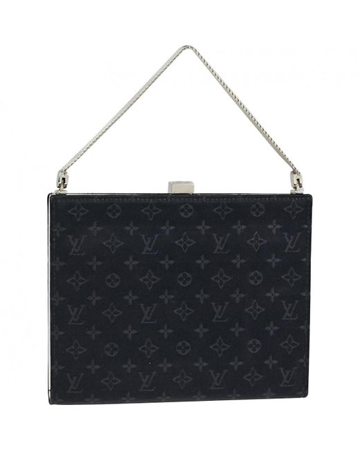 Louis Vuitton - Black Cloth Handbag - Lyst