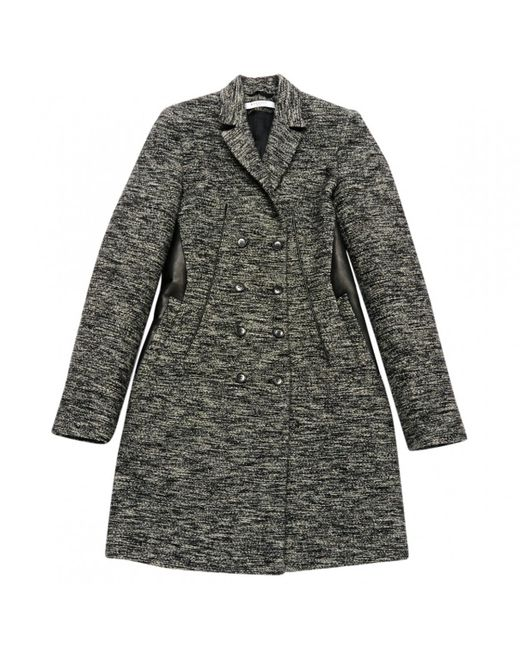 Givenchy   Gray Pre-owned Wool Coat   Lyst