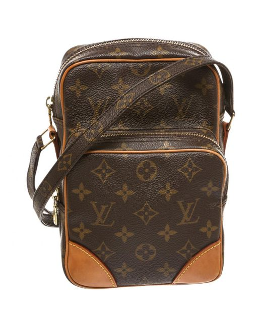 88d24565c953 Louis vuitton Pre-owned Crossbody Bag in Brown