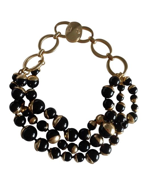 Dior   Metallic Pre-owned Ultra Necklace   Lyst