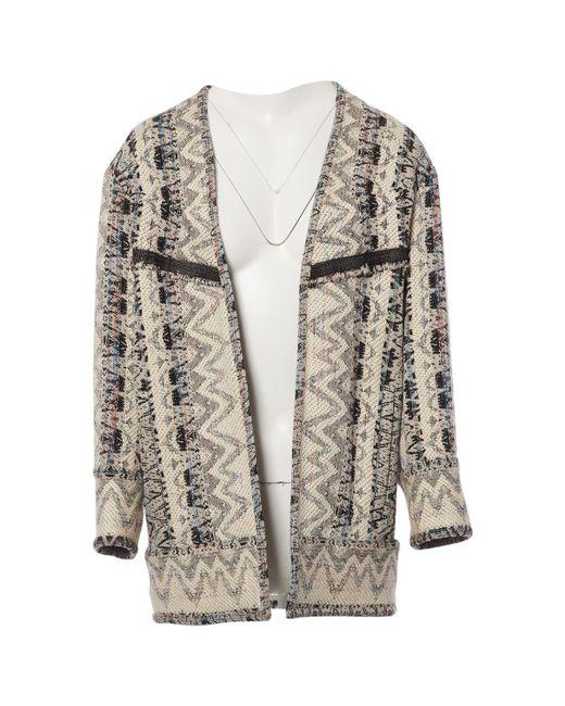 IRO - White Wool Coat - Lyst