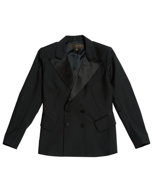 Louis Vuitton - Pre-owned Black Wool Jackets - Lyst