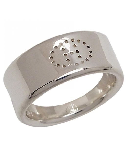 Hermès - Metallic Silver Ring - Lyst