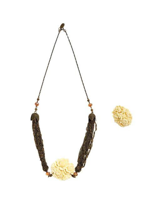 Isabel Marant   Metallic Pre-owned Jewellery Set   Lyst