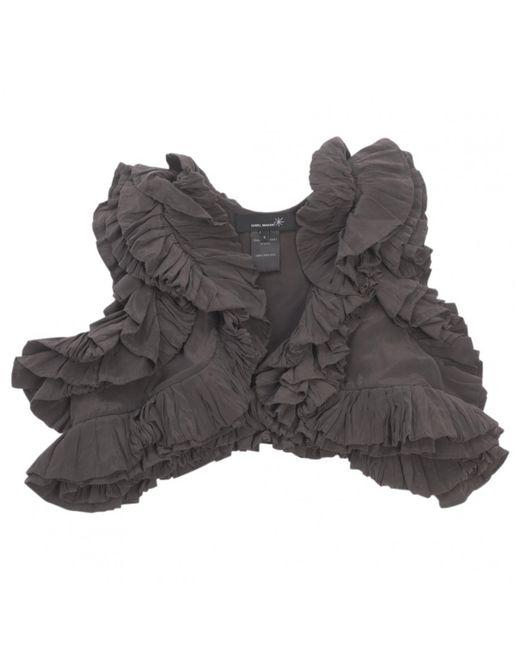 Isabel Marant - Gray Grey Silk Knitwear - Lyst
