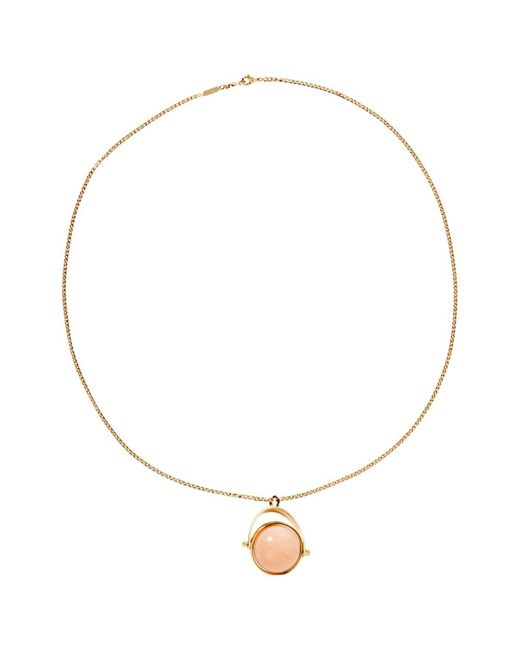 Chloé | Metallic Pre-owned Long Necklace | Lyst
