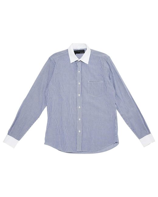 The Kooples - Blue Cotton Top - Lyst