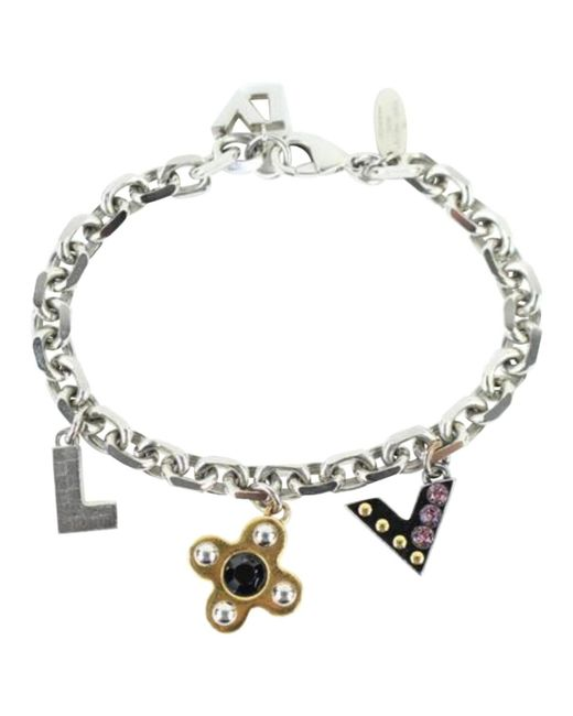 Louis Vuitton | Metallic Pre-owned Silver Metal Bracelet | Lyst