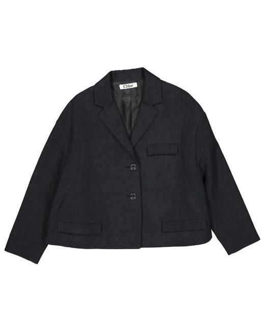 Chloé Black Wool Jacket