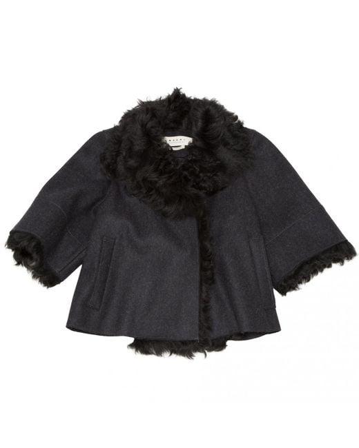 Marni - Black Pre-owned Wool Jacket - Lyst