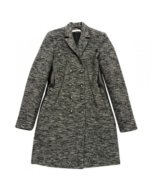 Givenchy | Gray Pre-owned Wool Coat | Lyst