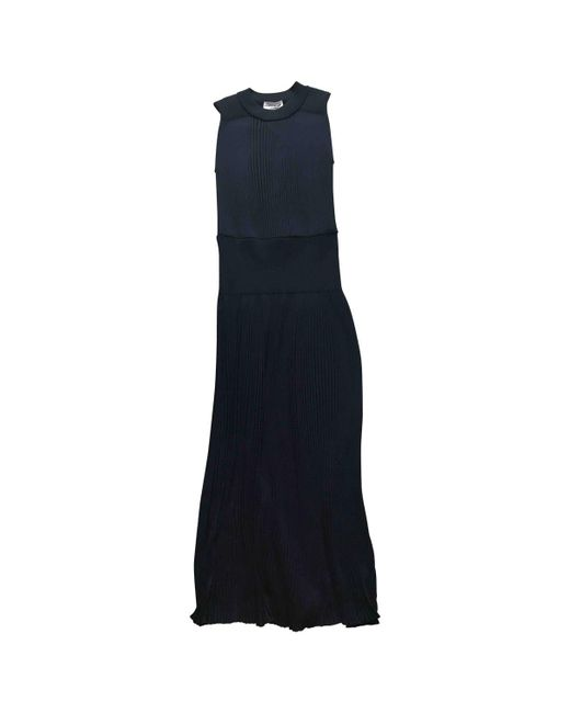 3d60043b118 Sonia Rykiel Navy Wool Dress in Blue - Lyst