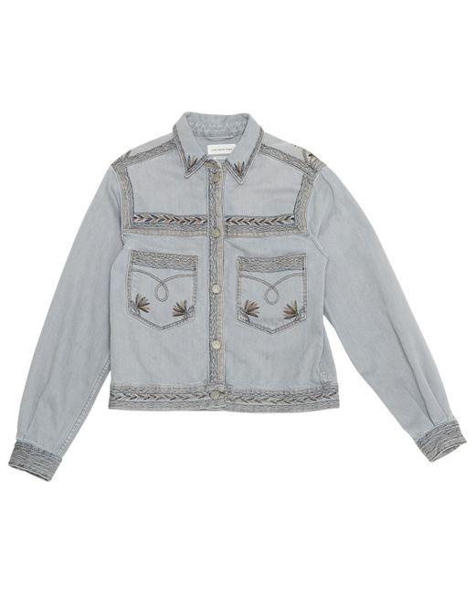 Étoile Isabel Marant - Gray Short Jacket - Lyst