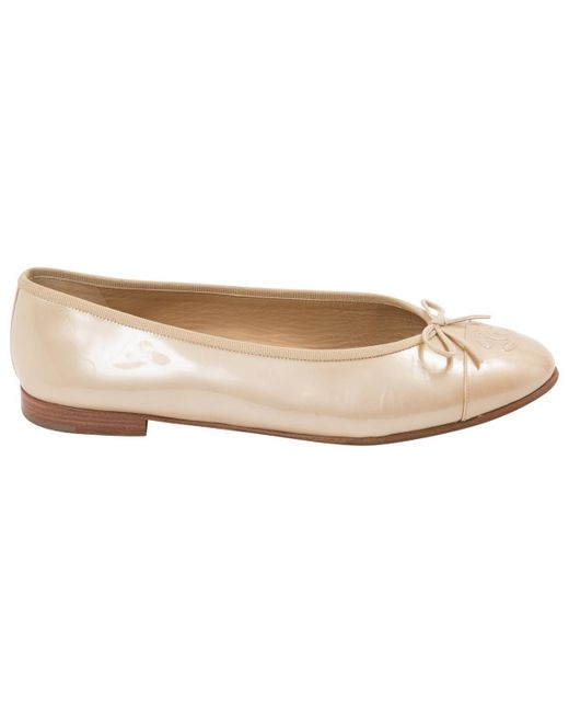 Pre-owned - Patent leather flats Chanel fLgkqxAn