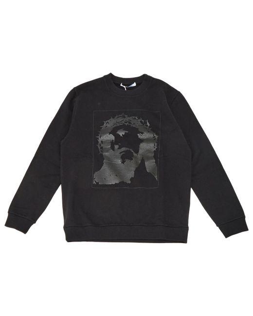 Givenchy - Black Cotton Knitwear & Sweatshirt for Men - Lyst