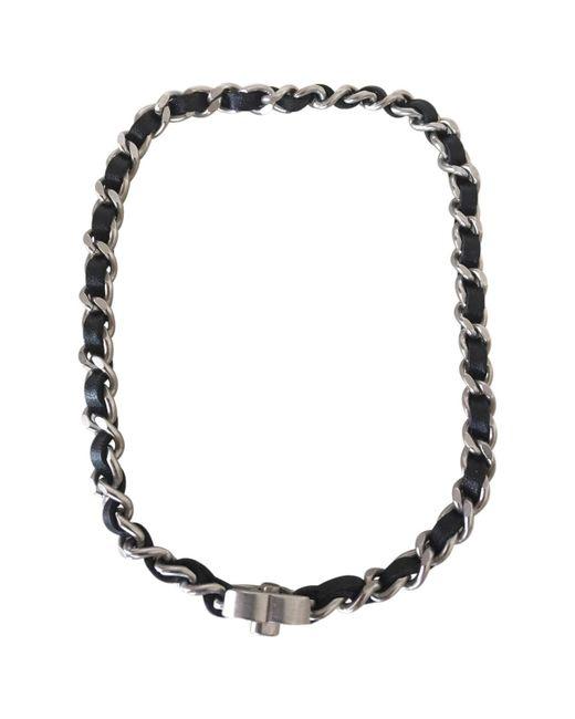 Chanel | Black Necklace Or Double Bracelet | Lyst