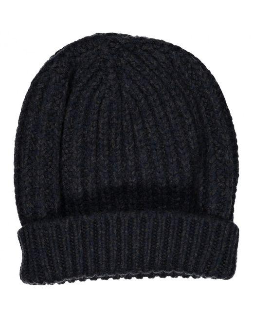 b99a2633845 Lanvin - Blue Wool Hat for Men - Lyst ...