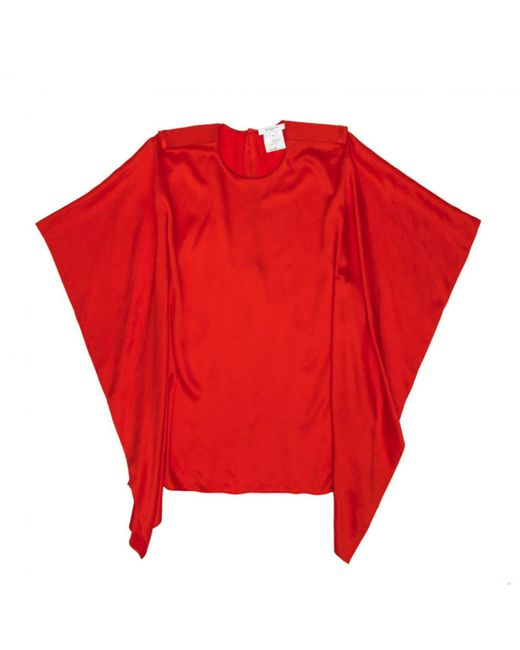 Givenchy - Pre-owned Red Silk Tops - Lyst