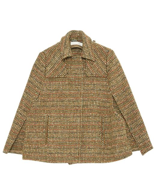 Stella McCartney - Multicolor Pre-owned Wool Poncho - Lyst