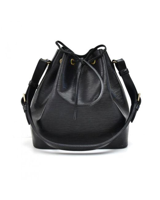 5e59ce270e Sac à main Noé en cuir Louis Vuitton en coloris Noir - Lyst