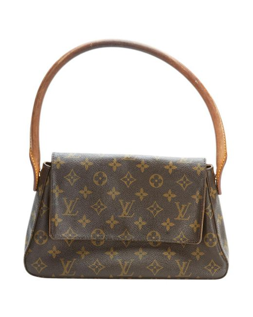 Louis Vuitton - Pre-owned Vintage Looping Brown Other Handbags - Lyst