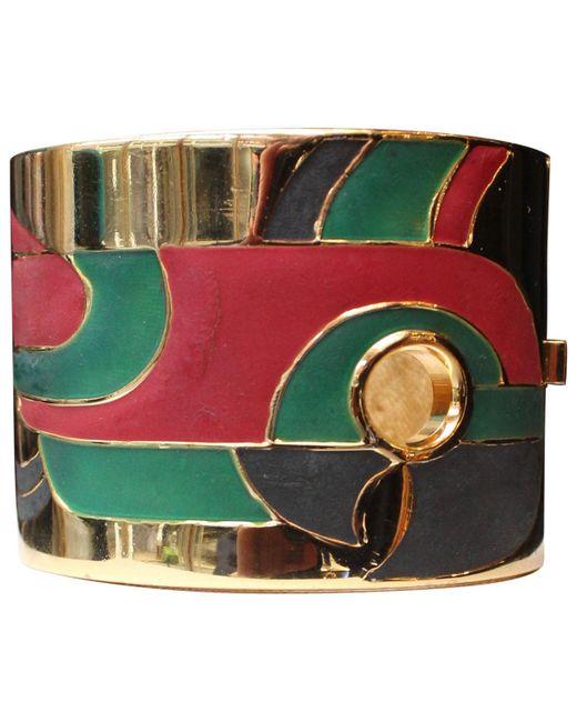 Lanvin - Multicolor Multicolour Metal Bracelet - Lyst
