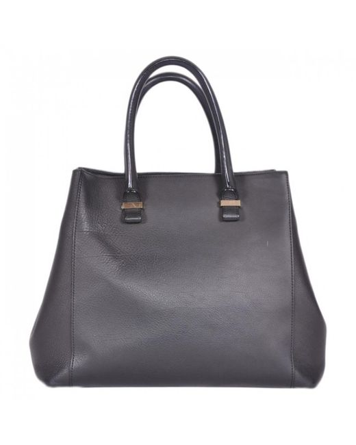 Victoria Beckham - Pre-owned Black Leather Handbags - Lyst