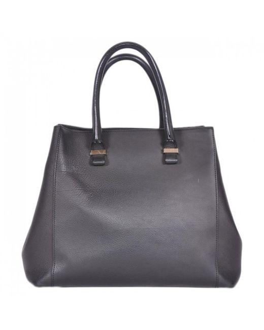Victoria Beckham - Black Leather Bag - Lyst