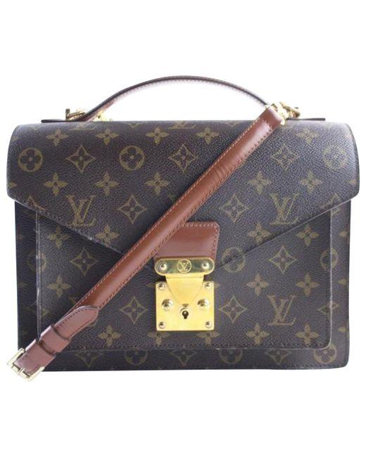 Louis Vuitton - Multicolor Monceau Other Cloth - Lyst