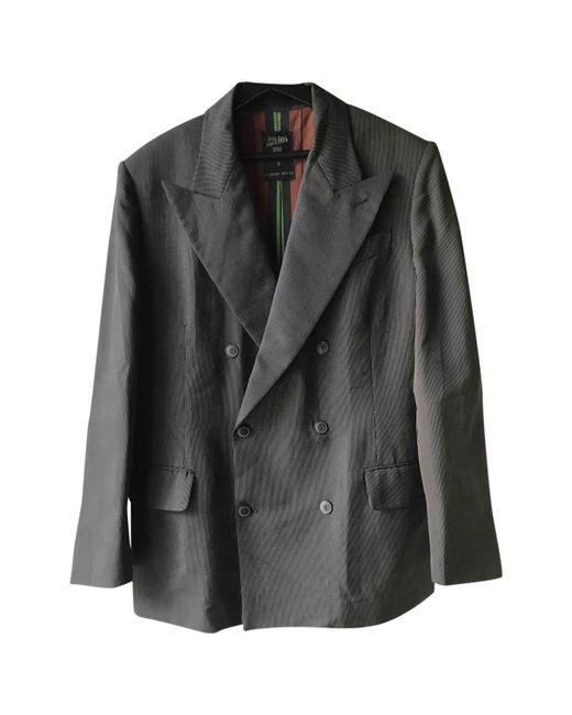 Jean Paul Gaultier - Brown Wool Vest for Men - Lyst
