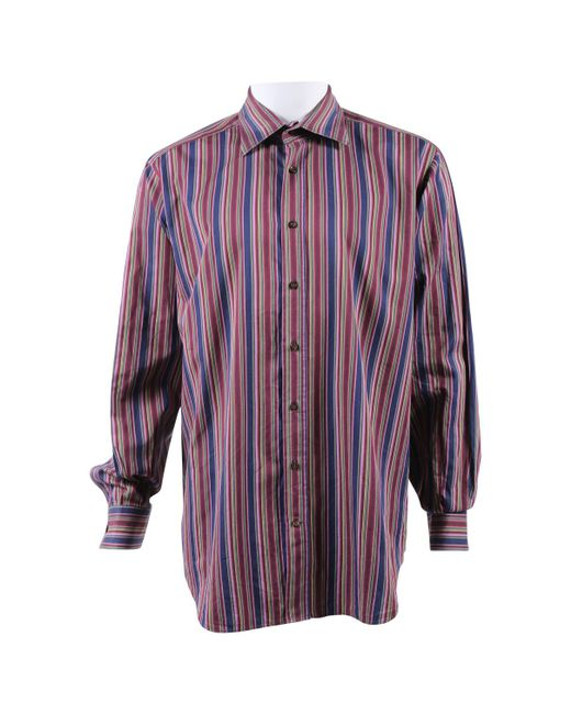 Etro - Purple Pre-owned Shirt for Men - Lyst