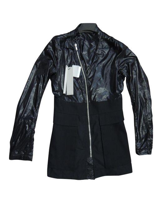 Rick Owens - Black Pre-owned Jacket for Men - Lyst