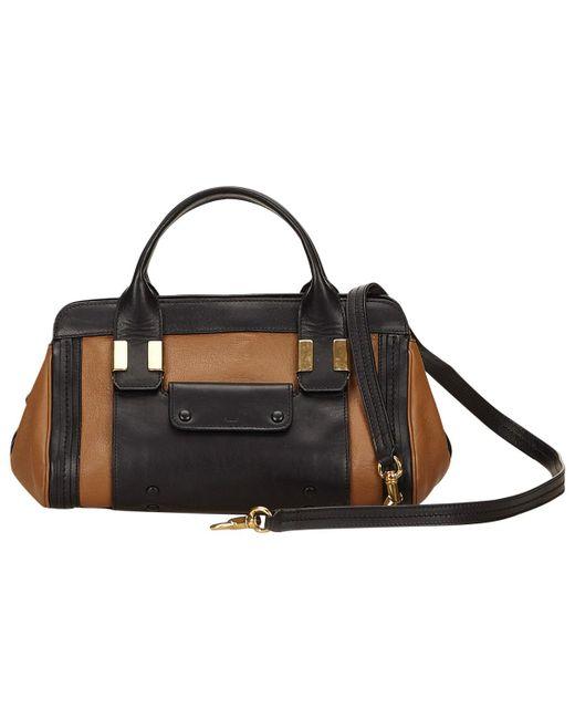 Chloé - Brown Alice Leather Handbag - Lyst