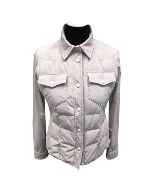 Moncler - Gray Jacket - Lyst