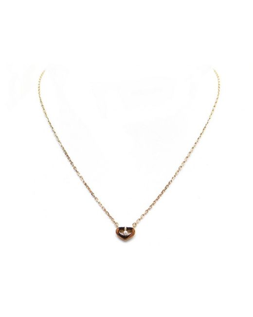 Cartier - Metallic C Gold Yellow Gold Necklace - Lyst