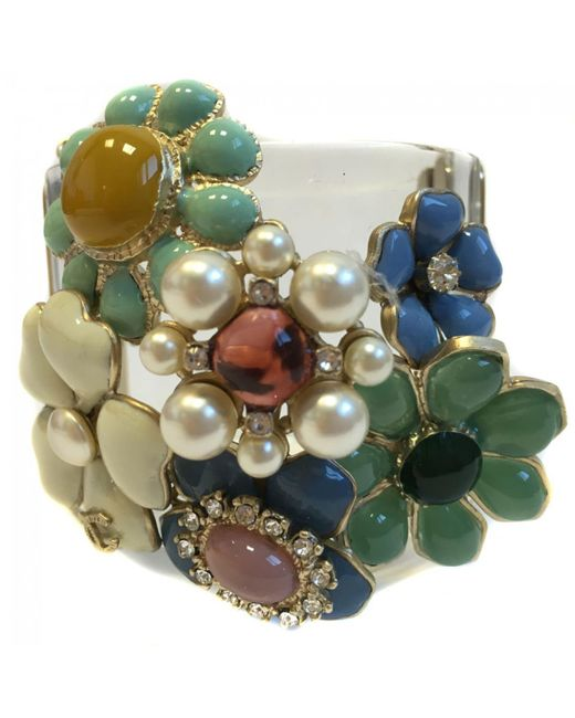 Chanel | Green Pre-owned Multicolour Bracelet | Lyst
