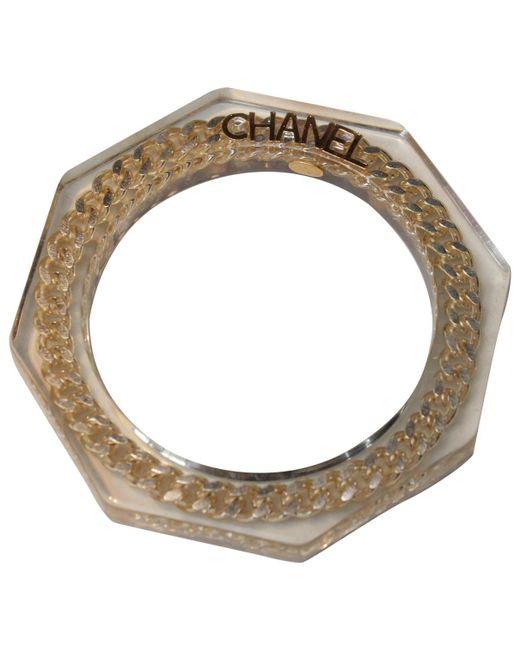 Chanel - Metallic Bracelet - Lyst