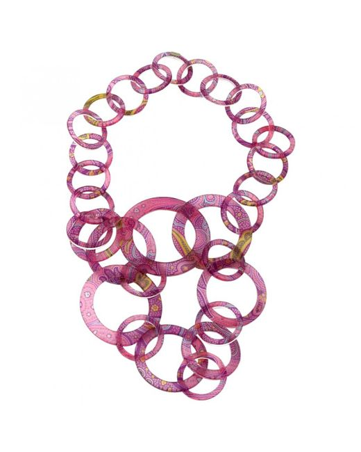 Etro - Multicolor Pre-owned Other Plastic Long Necklaces - Lyst
