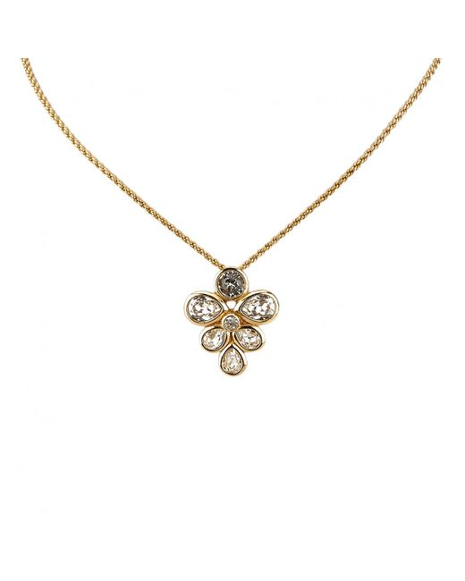 Dior - Metallic Necklace - Lyst