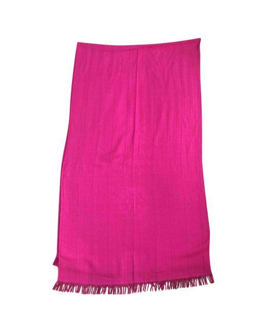 Hermès - Pink Cashmere Scarf - Lyst