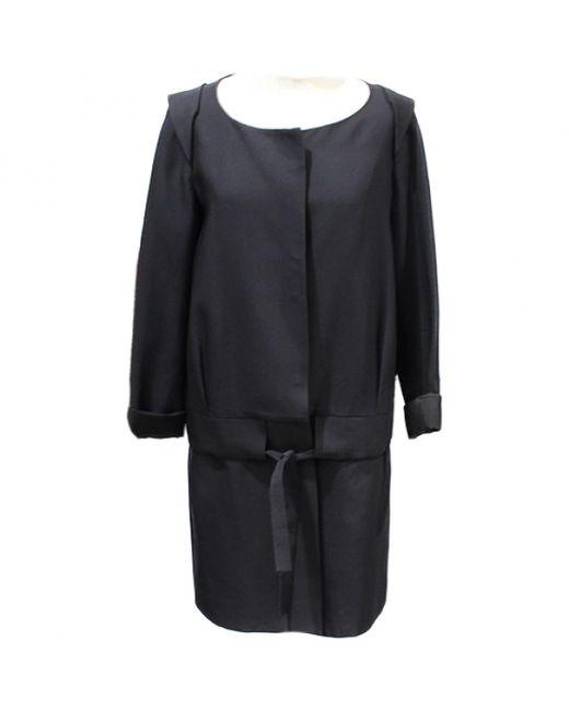Chloé - Black Pre-owned Coat - Lyst
