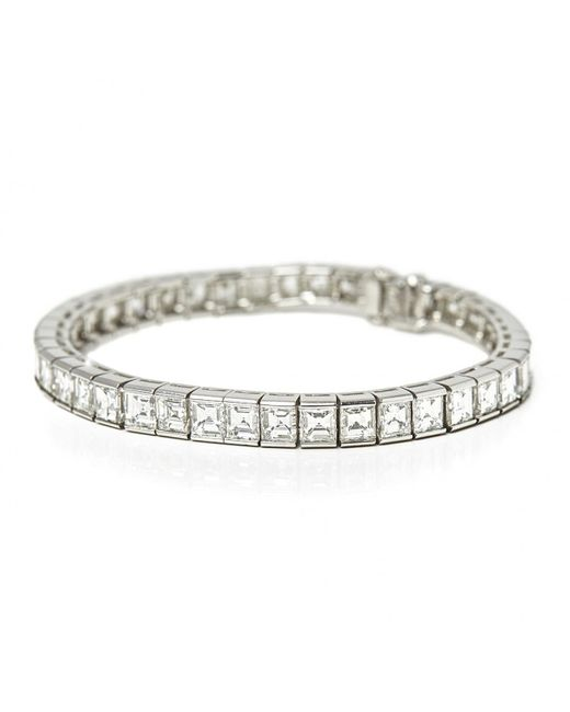 Cartier   White Platinum Bracelet   Lyst