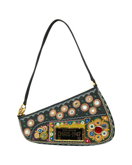 Dior | Multicolor Pre-owned Multicolour Cotton Handbag | Lyst